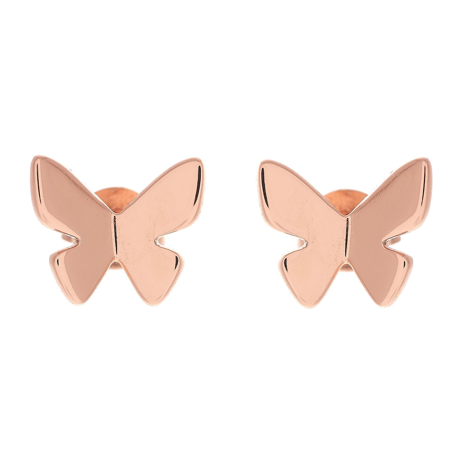 Olivia Burton Rose Gold Metal Plated Butterfly Earrings - Product number 3945227