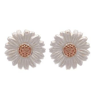 Olivia Burton 3D Daisy Rose Gold Plated Stud Earrings - Product number 3945243