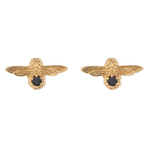 Olivia Burton Bejewelled Gold Metal Plated Stud Earrings - Product number 3945286
