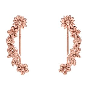 Olivia Burton Bee Blooms Rose Gold Metal Plated Earrings - Product number 3945294