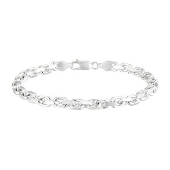 Sterling Silver 8 Inch Anchor Chain Bracelet - Product number 3945588