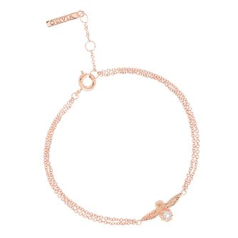 Olivia Burton Bejewelled Rose Gold Metal Plated Bracelet - Product number 3945677