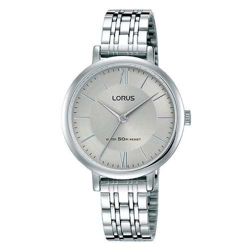 Lorus Ladies' Grey Dial Stainless Steel Bracelet Watch - Product number 3946177