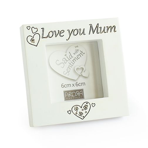 Said With Sentiment Love You Mum Photo Frame - Product number 3946304