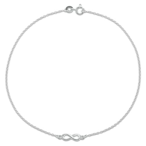 Sterling Silver Infinity Anklet - Product number 3952738