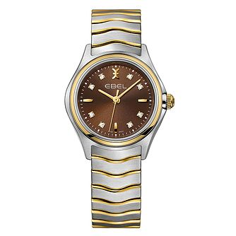 Ebel Wave Ladies' Two Colour Brown Dial Watch - Product number 3955079