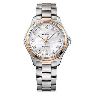 Ebel Discovery Ladies' Two Colour Mother of Pearl Watch - Product number 3955095