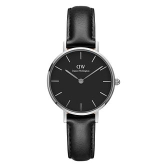 Daniel Wellington Classic Petite Ladies' Black Leather Watch - Product number 3956024