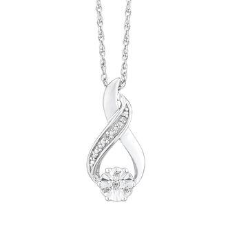 diamond necklaces h samuel