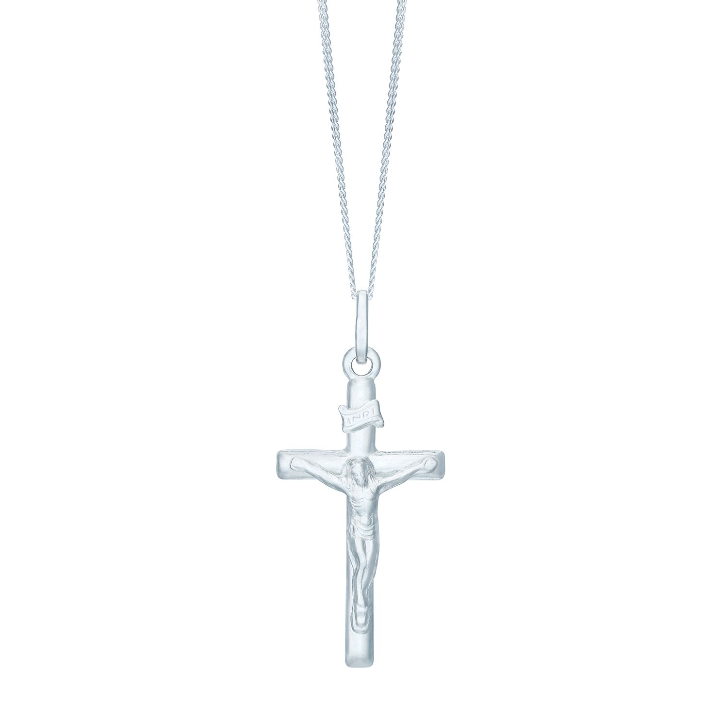 Sterling Silver Crucifix Pendant - Product number 3960102