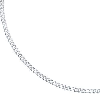 "Sterling Silver 24"" Curb Chain Necklace - Product number 3960250"