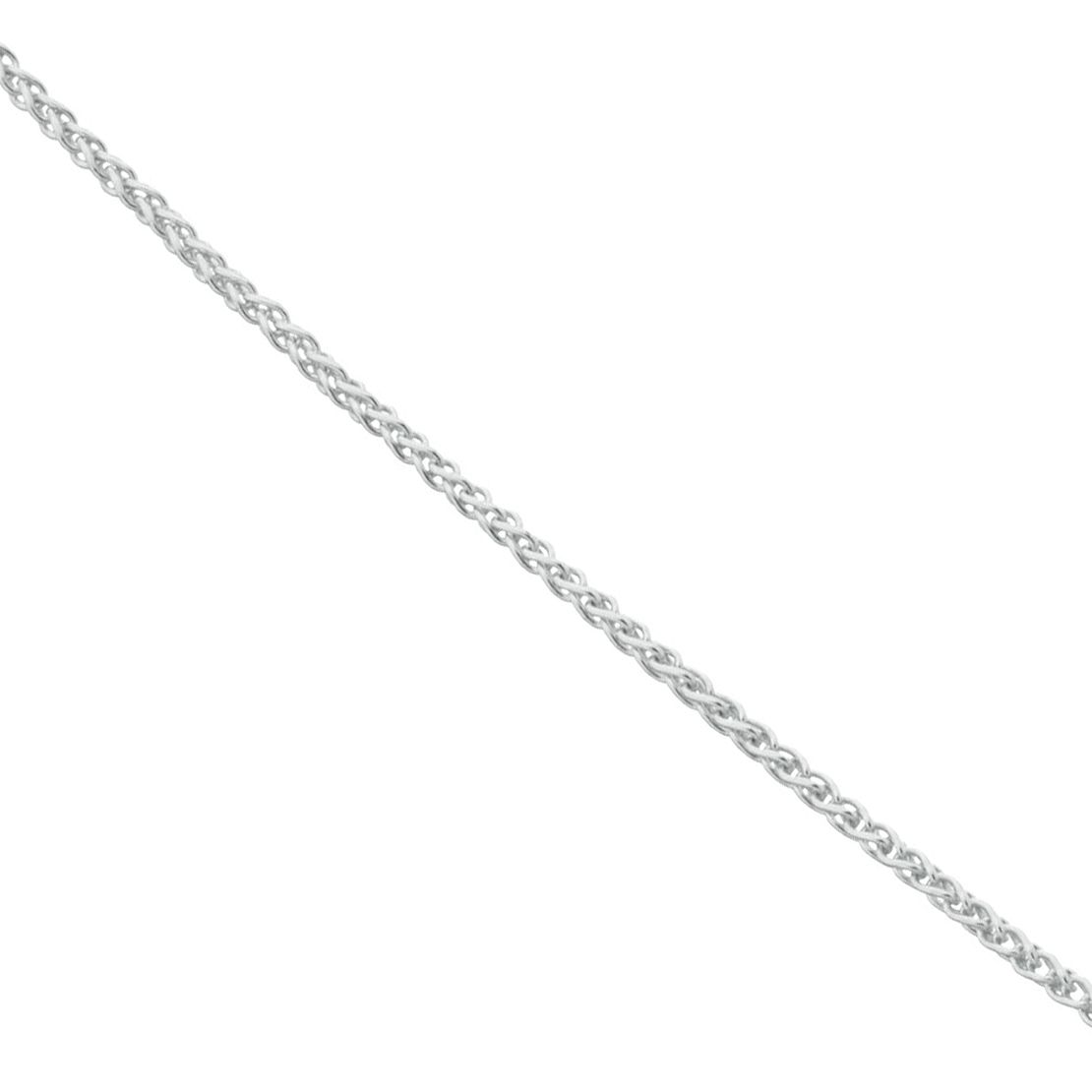 Sterling Silver 18 inches Adjustable Slider Spiga Chain - Product number 3960277