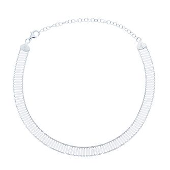 "Sterling Silver 14"" Fancy Link Chain Choker - Product number 3961745"