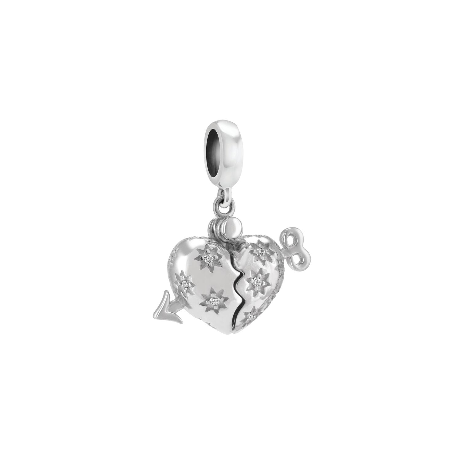 Chamilia Cupid's Arrow Sterling Silver & Swarovski Charm - Product number 3963063