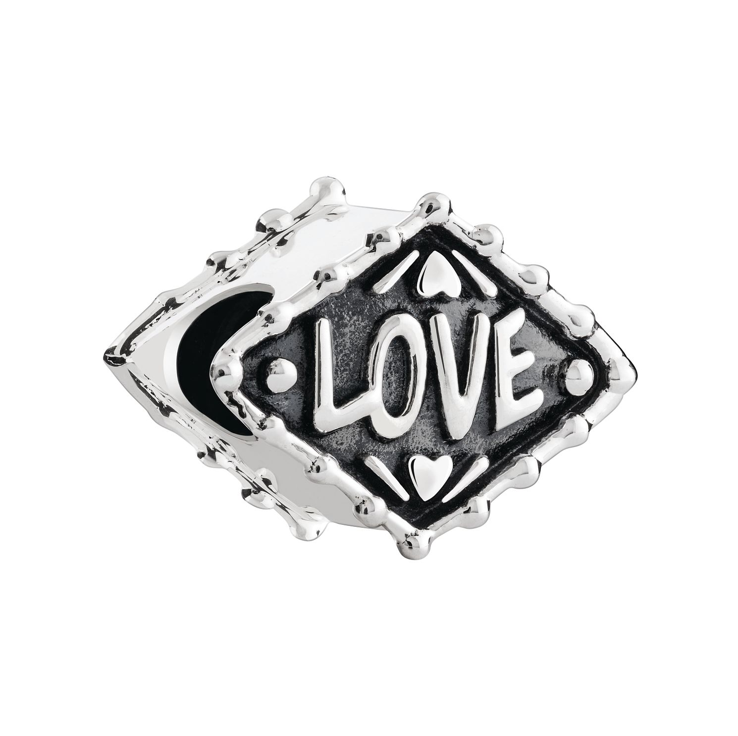 Chamilia Neon Heart Sterling Silver Bead - Product number 3963071