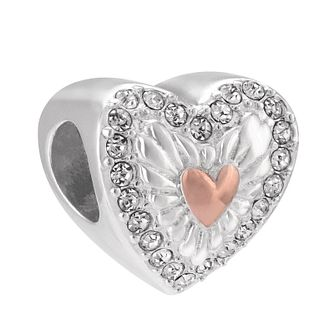 Chamilia Hearts Ablaze Rose Gold Electroplated Bead - Product number 3963187