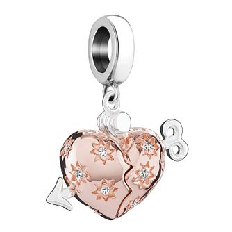 Chamilia Cupid's Arrow Locket Rose Gold Electroplated Charm - Product number 3963284