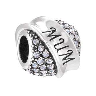Chamilia Mum Treasure Banner Sterling Silver Bead - Product number 3967204