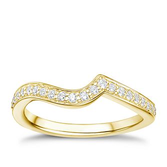 Tolkowsky 18ct gold 0.17ct diamond shaped ring - Product number 3992683