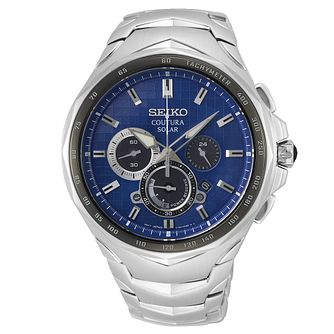 Seiko Coutura Chronograph Stainless Steel Bracelet Watch - Product number 4000145