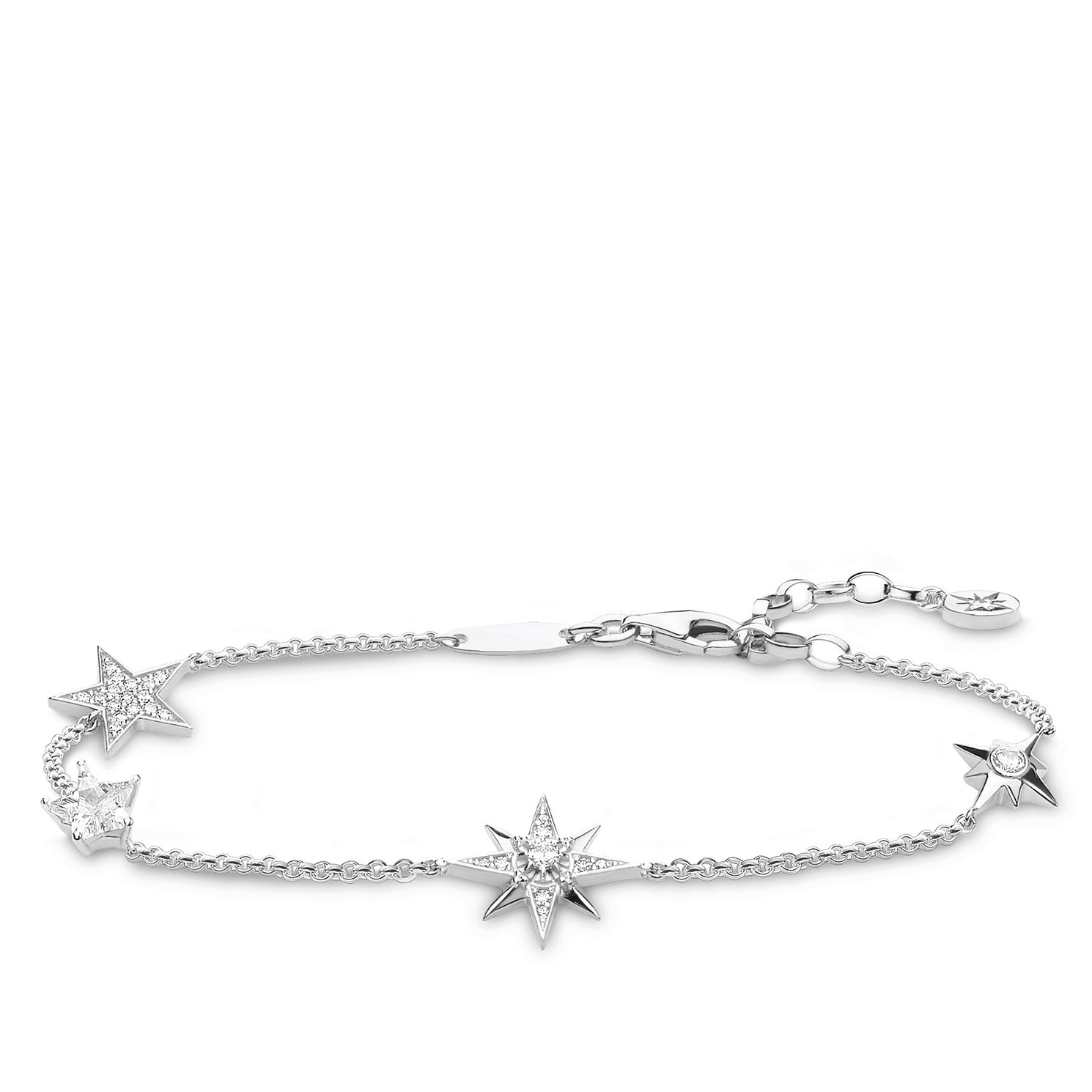 Thomas Sabo Silver Zirconia Star Bracelet - Product number 4004701