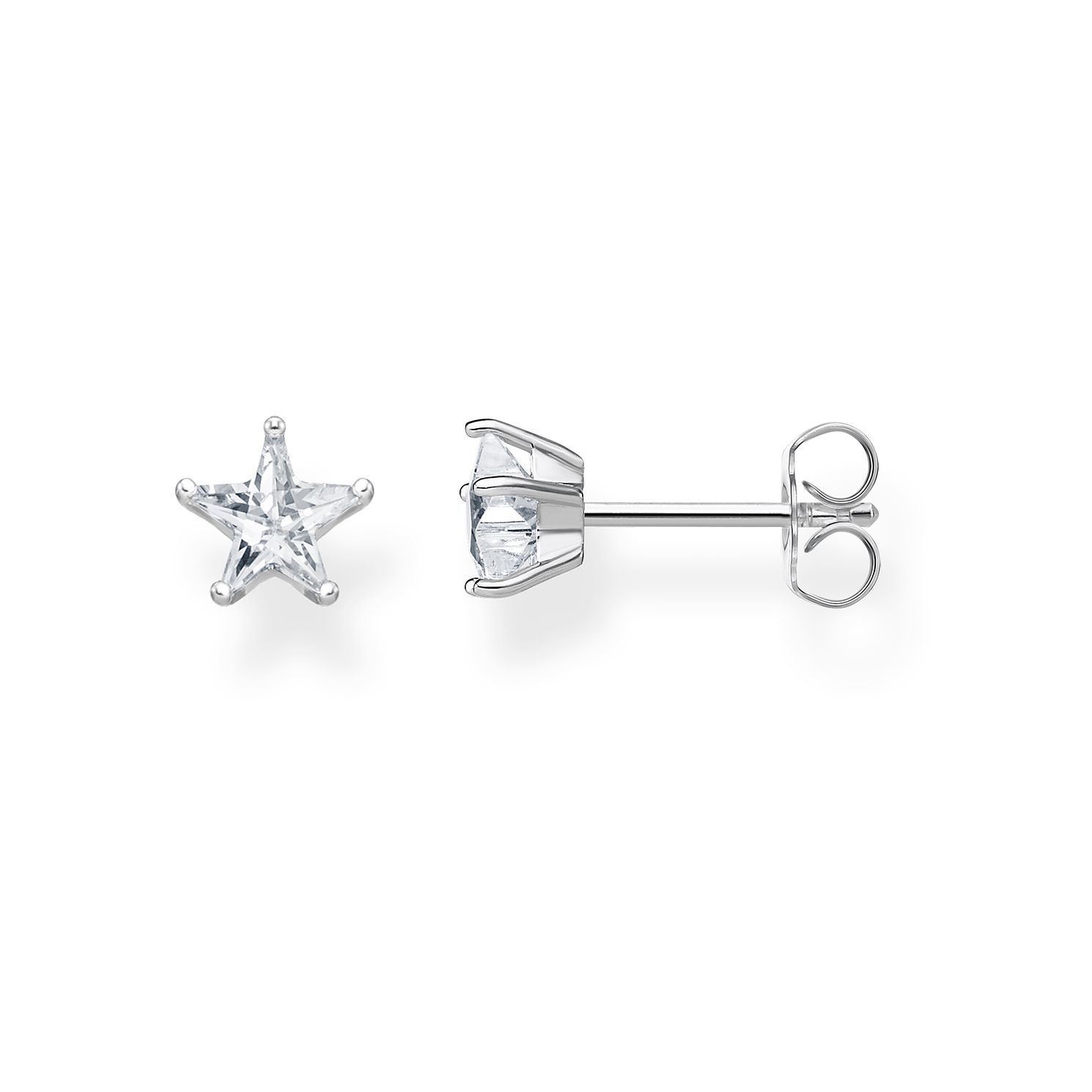 Thomas Sabo Sterling Silver Magic Star Stud Earrings - Product number 4007476
