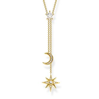 Thomas Sabo Sterling Silver Moon Necklace - Product number 4007719