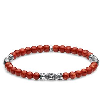 Thomas Sabo Sterling Silver Red Bead Bracelet - Product number 4007840