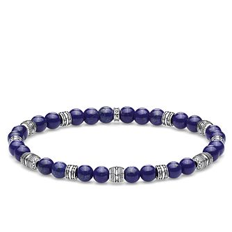 Thomas Sabo Sterling Silver Blue Bead Bracelet - Product number 4007859