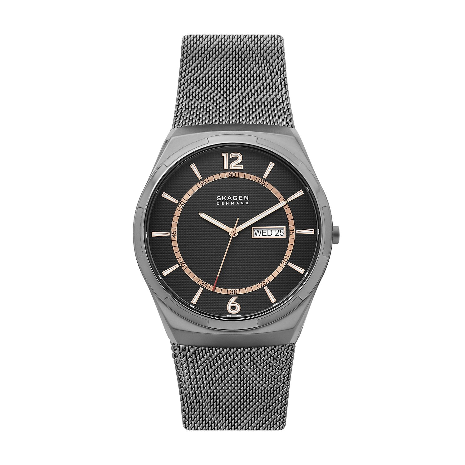 Skagen Melbye Men's Grey Stainless Steel Mesh Bracelet Watch - Product number 4012062