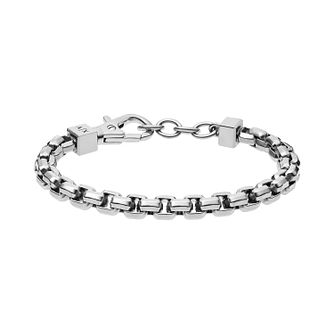 Armani Exchange Men's Stainless Steel Belcher Bracelet - Product number 4013697