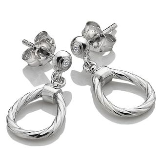 18983726e Hot Diamonds Breeze Ladies' Silver Diamond Drop Earrings - Product number  4017072
