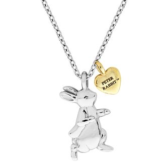 Beatrix Potter Peter Rabbit Children's Gold Heart Pendant - Product number 4020081