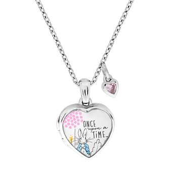 Beatrix Potter Peter Rabbit Children's Heart Locket - Product number 4020103