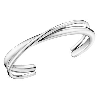 Calvin Klein Stainless Steel Double Strand Open Bangle - Product number 4029364