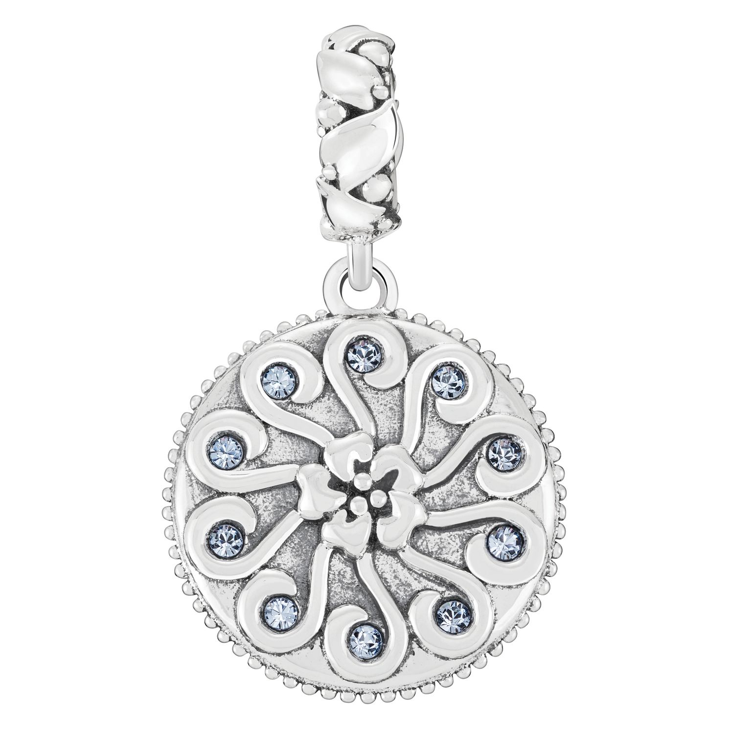 Chamilia Sterling Silver Antique Swirl Mum Charm - Product number 4039866