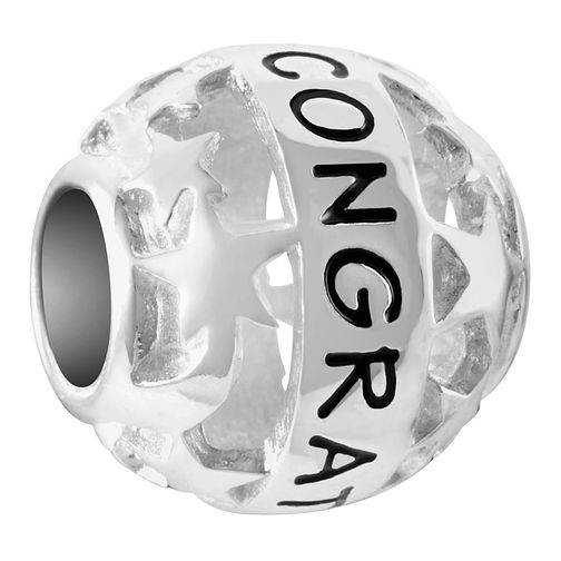 Chamilia Sterling Silver Starry Congratulations Charm - Product number 4039890