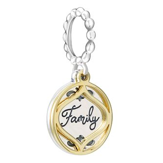 Chamilia Petite Family Treasure Gold Electroplating Charm - Product number 4039912