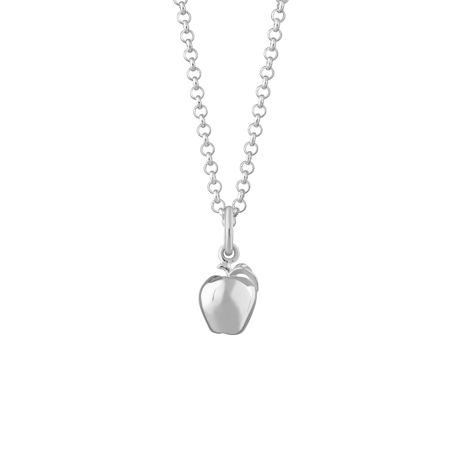 Lily Charmed Silver Apple Pendant - Product number 4040104