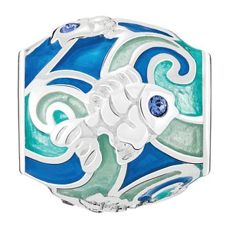 Chamilia Swimming Goldfish Treasure Charm with Enamel - Product number 4042212