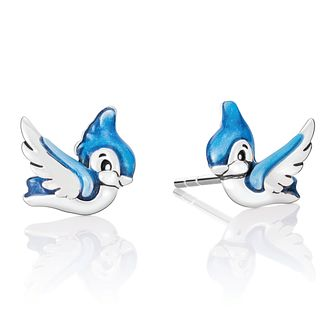Chamilia Disney Snow White Blue Bird Stud Earrings - Product number 4042808