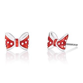 Chamilia Disney Minnie Bow Earrings with Red Enamel - Product number 4042867