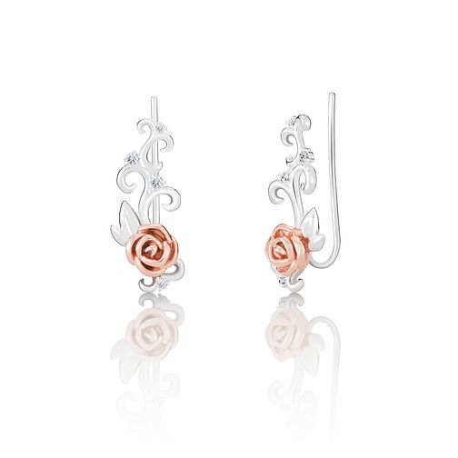 Chamilia Disney Beauty & The Beast Ear Climber Earrings - Product number 4042875