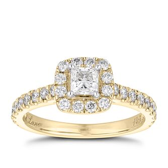 Neil Lane 14ct Gold 0.81ct Diamond Halo Ring - Product number 4043197
