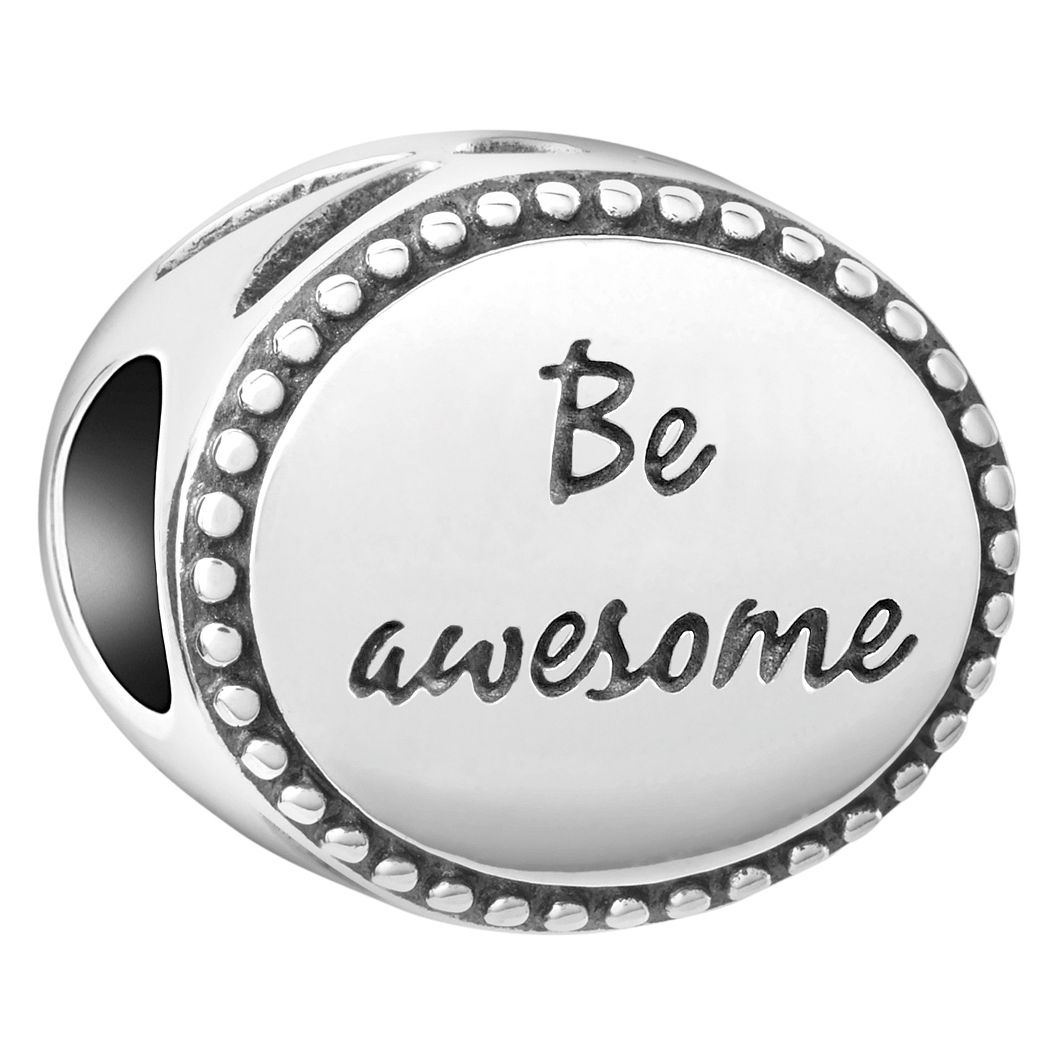 Chamilia Sterling Silver Be Awesome Charm - Product number 4043316