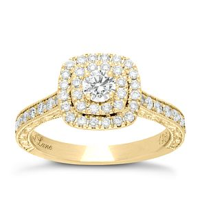 Neil Lane 14ct  Gold 0.33ct Diamond Shaped Band - Product number 4044045