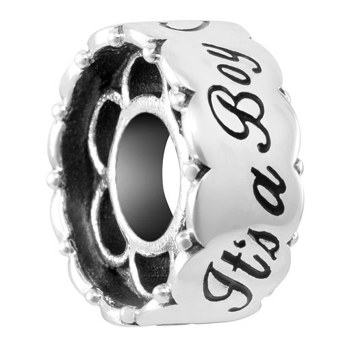 Chamilia Sterling Silver Boy Barrel Charm - Product number 4044134