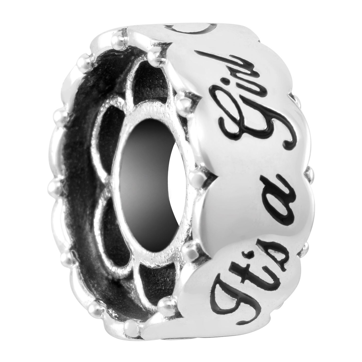 Chamilia Sterling Silver Girl Barrel Charm - Product number 4044193