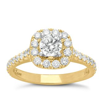 Neil Lane 14ct gold 1.16ct diamond cluster ring - Product number 4044711