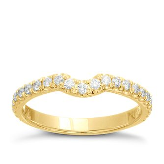 Neil Lane 14ct gold 0.33ct diamond band - Product number 4044843